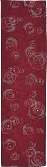 TISCHLÄUFER 40/150 cm - Brombeere, Trend, Textil (40/150cm)