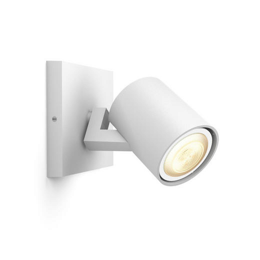STRAHLER HUE WHITE AMBIANCE - Weiß, KONVENTIONELL, Metall (9/10,9/11cm) - Philips
