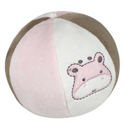 PLÜSCHBALL  - Rosa/Weiß, Basics, Textil (15cm) - My Baby Lou