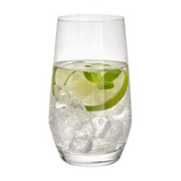 LONGDRINKGLAS 365 ml - Transparent, Design, Glas (7,50/13,00/7,50cm) - Leonardo