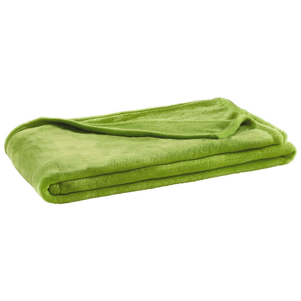 Grüne Kuscheldecke für mehr Gemütlichkeit
