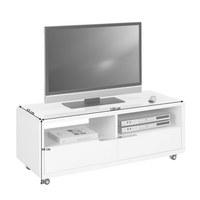TV-ELEMENT in Weiß - Weiß, Design, Holzwerkstoff/Kunststoff (120/46/45cm) - Carryhome