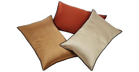 Zierkissen Malta - Goldfarben, ROMANTIK / LANDHAUS, Textil (40/60cm) - James Wood