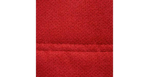 SCHLAFSOFA in Textil Rot - Rot/Schwarz, Design, Kunststoff/Textil (208/73-90/102cm) - Hom`in