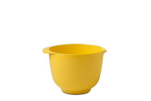 RÜHRSCHÜSSEL - Gelb, Design, Kunststoff (19,5/16,5/13cm) - Mepal Rosti