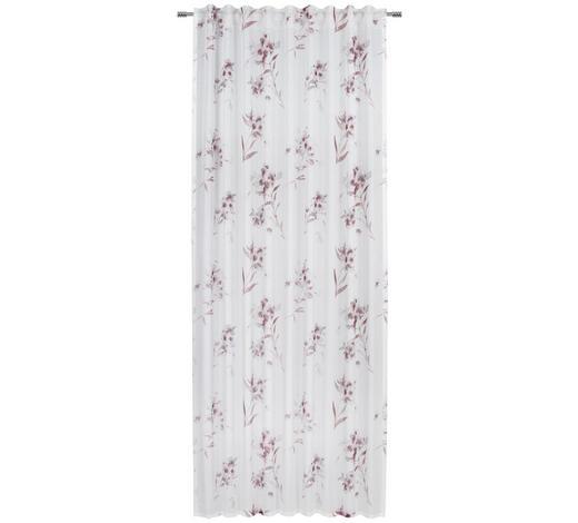 FERTIGVORHANG halbtransparent - Rosa, KONVENTIONELL, Textil (135/245cm) - Esposa