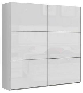 SKJUTDÖRRSGARDEROB - vit, Design, metall/träbaserade material (200,1/209,7/61,2cm) - Carryhome