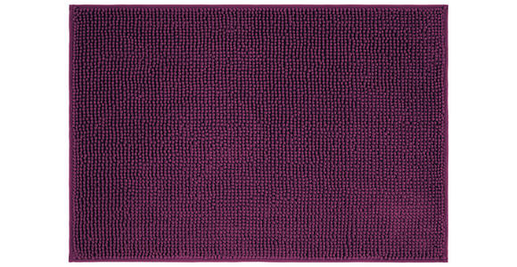 Badematte Anke - Lila, KONVENTIONELL, Textil (60/90cm) - Luca Bessoni