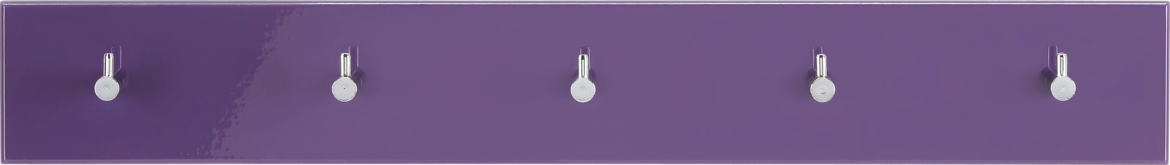 GARDEROBA ZIDNA - kupina, Design, drvni materijal/metal (57/5/8cm) - BOXXX