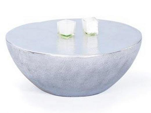 COUCHTISCH PELAS rund Alufarben - Alufarben, Design, Metall (70/70/30cm) - Carryhome