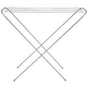 STANDTROCKNER - Dunkelgrau/Weiß, Basics, Metall (98,5/35/83cm) - Homeware