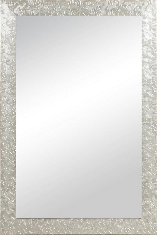 WANDSPIEGEL Silberfarben - Silberfarben, Basics, Glas/Kunststoff (40/60cm) - Carryhome