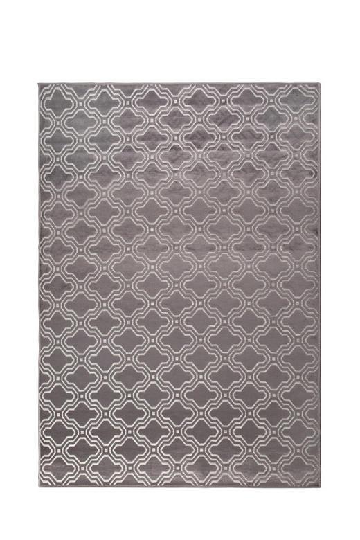 TEPPICH   Grau, Weiß - Weiß/Grau, Design, Kunststoff/Textil (160/230cm)