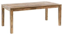 ESSTISCH in Holz 120/70/76 cm   - Braun, MODERN, Holz (120/70/76cm) - Carryhome