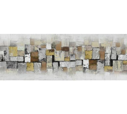 ÖLGEMÄLDE - Multicolor, Basics, Holz/Textil (150/55cm)