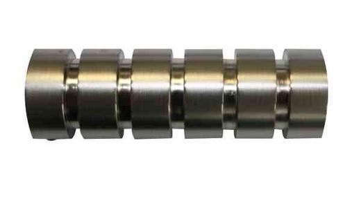 ENDSTÜCK - Edelstahlfarben, Basics, Metall (7.4/2.5cm) - Homeware