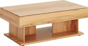 COUCHTISCH in Holz 120/70/45-65 cm   - Buchefarben, KONVENTIONELL, Holz (120/70/45-65cm) - Valnatura