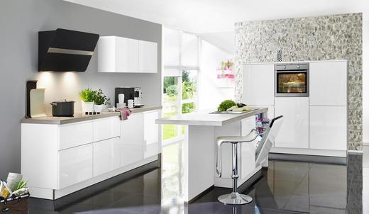 Einbauküche weiß grau design nolte küchen