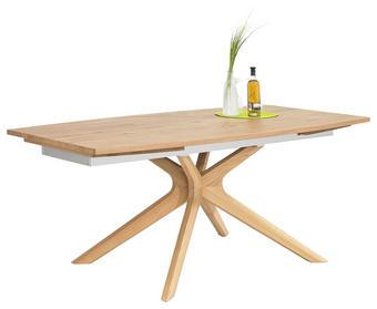 JÍDELNÍ STŮL, dýha, masivní, dub, staré dřevo, barvy dubu - barvy dubu, Natur, dřevo (200/100/76,5cm) - Voglauer