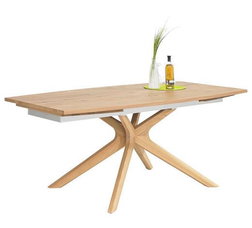 JÍDELNÍ STŮL, dýhované, masivní, starodřevo, dub, barvy dubu - barvy dubu, Natur, dřevo (200/100/76,5cm) - Voglauer