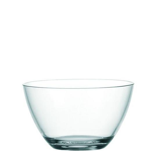 SCHALE Glas - Klar, Basics, Glas (21.50cm) - Leonardo