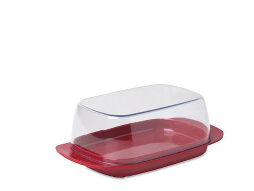 BUTTERDOSE Kunststoff - Rot, Basics, Kunststoff (17/10/6cm) - MEPAL ROSTI