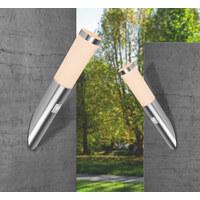 AUßENLEUCHTE - Weiß, KONVENTIONELL, Kunststoff/Metall (7.6/41cm)