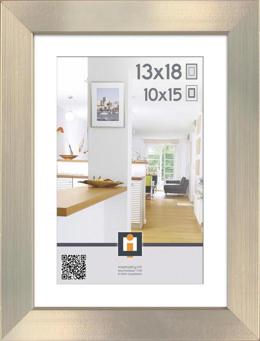 BILDERRAHMEN in Silberfarben - Silberfarben, Basics, Kunststoff (10/15cm)