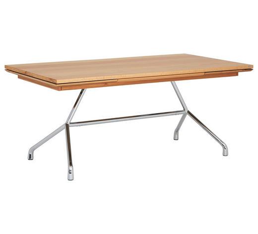 ESSTISCH in Holz 180(280)/95/77 cm - Buchefarben, Design, Holz/Metall (180(280)/95/77cm) - Joop!