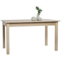 JEDILNA MIZA, hrast  - hrast, Design, leseni material (140 (180)/80/76,5cm) - Xora