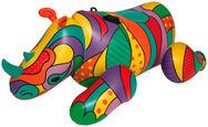 SCHWIMMTIER 41116 - Multicolor, Basics, Kunststoff (198/117/84cm) - Bestway