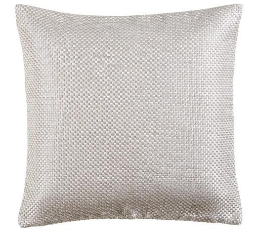 KISSENHÜLLE Weiß 50/50 cm  - Weiß, Design, Textil (50/50cm) - Novel
