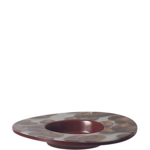 UNTERTASSE - Braun, KONVENTIONELL, Kunststoff (11cm) - Leonardo