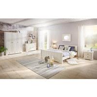 BETT 180 cm   x 200 cm   in Holz, Holzwerkstoff Weiß - Weiß, LIFESTYLE, Holz/Holzwerkstoff (180/200cm) - LANDSCAPE