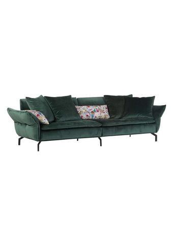 VELIKA ZOFA,  zelena tekstil - črna/zelena, Design, tekstil (300/88-45/109cm) - Landscape