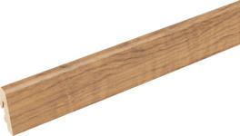 SOCKELLEISTE Nussbaumfarben  - Nussbaumfarben, Basics, Holz (240/1,85/3,85cm) - Homeware