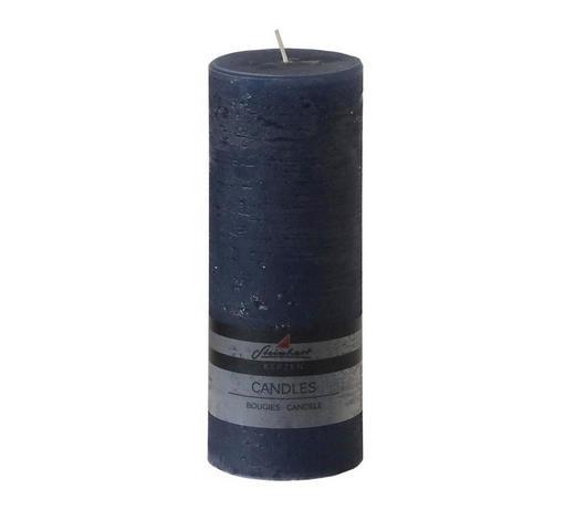 SVÍČKA - modrá, Basics (20/7,8cm) - Steinhart