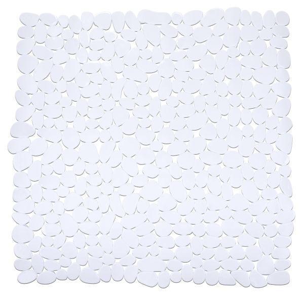 DUSCHEINLAGE - Weiß, KONVENTIONELL, Kunststoff (54/54cm)