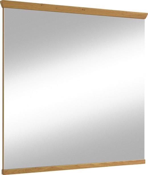 SPIEGEL - Eichefarben, LIFESTYLE, Glas/Holz (84/82cm) - Novel