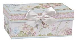 AUFBEWAHRUNGSBOX 14/10/6 cm  - Multicolor, Trend, Karton/Papier (14/10/6cm) - Boxxx