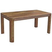 ESSTISCH Akazie teilmassiv rechteckig Sheeshamfarben  - Sheeshamfarben, LIFESTYLE, Holz (160/90/76cm) - Carryhome