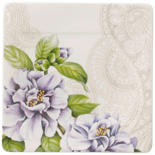 TELLER Keramik New Bone China - Lila/Creme, Basics, Keramik (16cm) - Villeroy & Boch