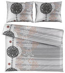 BETTWÄSCHE 200/200 cm  - Silberfarben, KONVENTIONELL, Textil (200/200cm) - Esposa