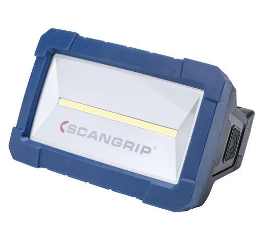 LED-ARBEITSLEUCHTE STAR - Blau/Schwarz, KONVENTIONELL, Kunststoff (10,3/15,6/9,8cm)