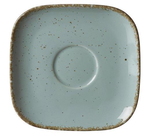 UNTERTASSE  - Blau, Trend, Keramik (14/14/2cm) - Ritzenhoff Breker