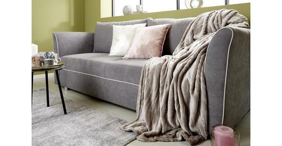 Kuscheldecke Milo - Silberfarben, ROMANTIK / LANDHAUS, Textil (180/220cm) - James Wood