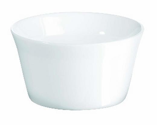 AUFLAUFFORM Keramik Porzellan - Weiß, Basics, Keramik (8.5cm) - ASA