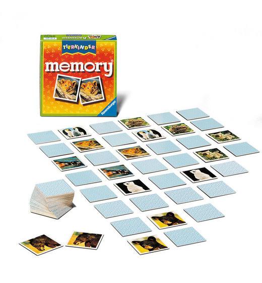 MEMORY - Multicolor, Basics, Karton/Papier (19/19/4,8cm) - Ravensburger