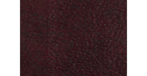 WOHNLANDSCHAFT in Textil Weinrot - Eichefarben/Beige, Natur, Textil (243/342/185cm) - Voleo