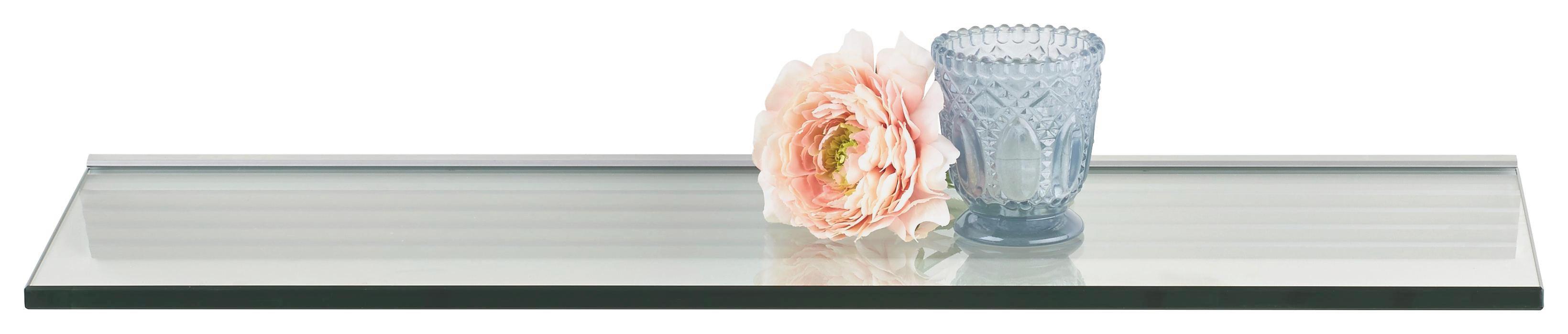 WANDBOARD Transparent - Transparent, Glas (60/20cm)